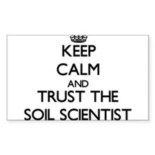 Keep Calm and Trust the Soil Scientist Decal