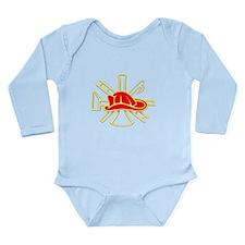SCRAMBLE Long Sleeve Infant Bodysuit