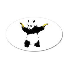Bad Panda Wall Decal