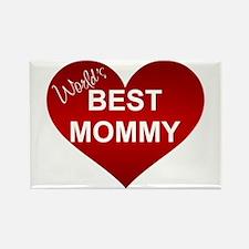 WORLD'S BEST MOMMY Rectangle Magnet
