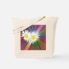 Crazy Daisies Tote Bag