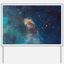 Stellar Jet in Carina Nebula Yard Sign