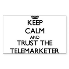 Keep Calm and Trust the Telemarketer Decal