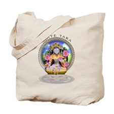 White Tara II Tote Bag