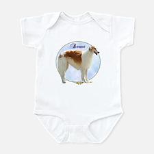 Borzoi Portrait Infant Bodysuit