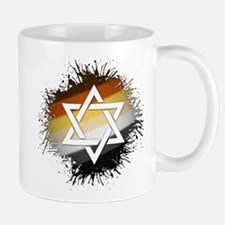 Bear Pride Star of David Mug