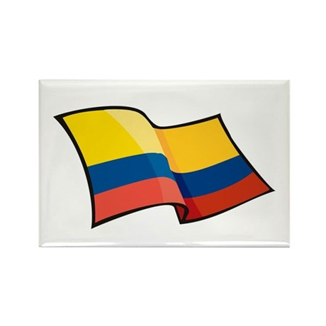 Colombian Flag Rectangle Magnet (100 pack)