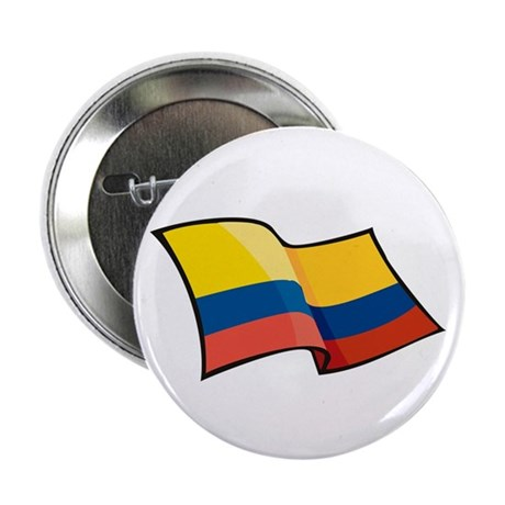 """Colombian Flag 2.25"""" Button (10 pack)"""