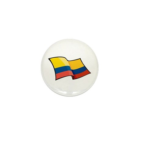 Colombian Flag Mini Button (10 pack)