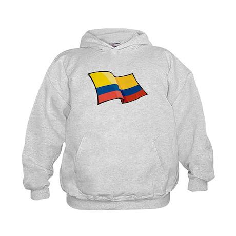 Colombian Flag Kids Hoodie