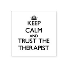 Keep Calm and Trust the Therapist Sticker
