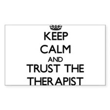 Keep Calm and Trust the Therapist Decal