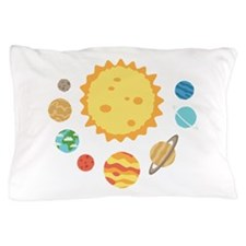SOLAR SYSTEM Pillow Case