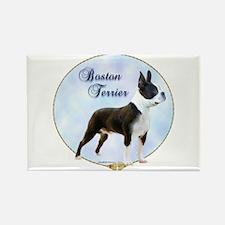 Boston Portrait Rectangle Magnet