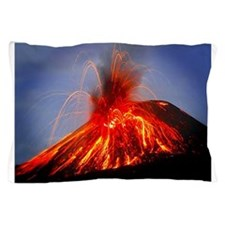 Krakatoa Volcano, Hawaii Pillow Case