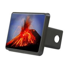 Krakatoa Volcano, Hawaii Hitch Cover