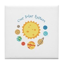 Our Solar System Tile Coaster