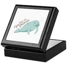 Save The Manatees Keepsake Box