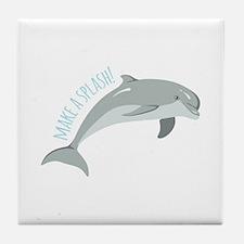 Make A Splash! Tile Coaster
