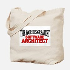 """The World's Greatest Software Architect"" Tote Bag"