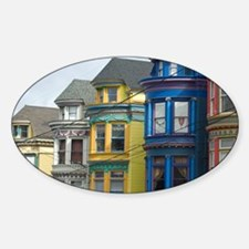 heritage wooden houses Decal
