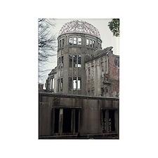 A bomb dome hiroshima Rectangle Magnet