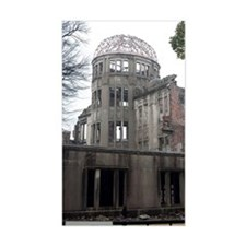 A bomb dome hiroshima Decal
