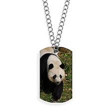 Giant Panda Bear Strutting His Stuff Dog Tags