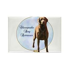 Chessie Portrait Rectangle Magnet