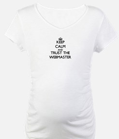 Keep Calm and Trust the Webmaster Shirt