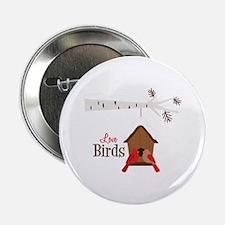 "Love Birds 2.25"" Button"