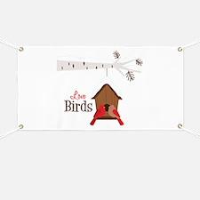 Love Birds Banner