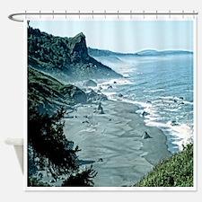 Redwoods National Park Coast Shower Curtain