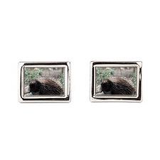 Sleeping Porcupine Cufflinks