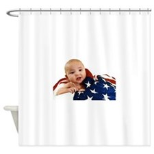 Ember too! Shower Curtain
