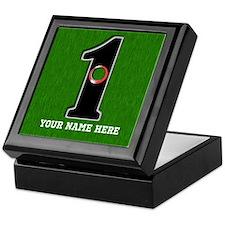 Customized Lucky Golf Hole in One Keepsake Box