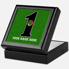 Customized Lucky Golf Hole in One Keepsake Box