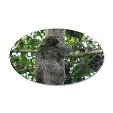 Climbing Sloth Wall Decal