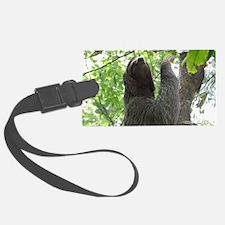 Tree Climbing Sloth Luggage Tag