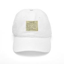 August 6th Baseball Cap