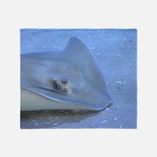 Stingray Sea Life Throw Blanket