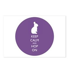 Keep Calm And Hop On - Postcards (package Of 8)
