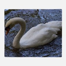 Swan Lake Throw Blanket