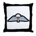 Kuwait Paratrooper Throw Pillow