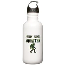 Camouflage Feelin Kinda Squatchy Water Bottle