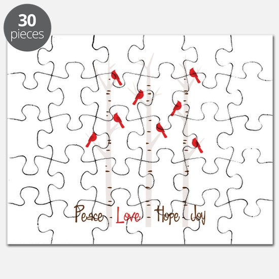 Peace Love Hope Day Puzzle