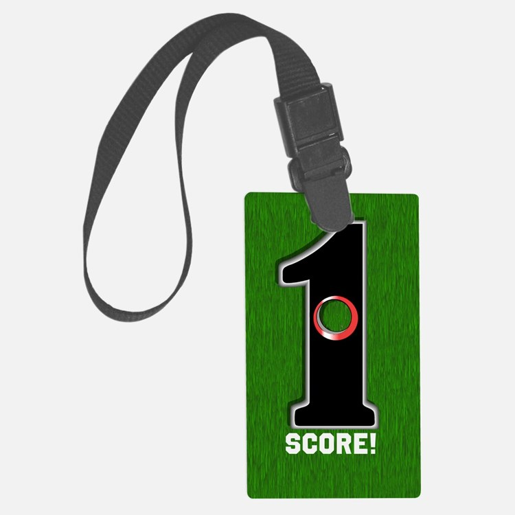 Customized Lucky Golf Hole in On Luggage Tag