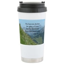 Bible verse, Psalms 19: Travel Coffee Mug