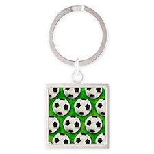 Soccer Ball Football Pattern Keychains