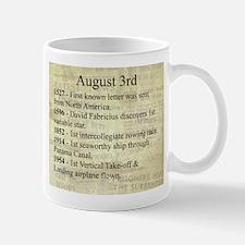August 3rd Mugs